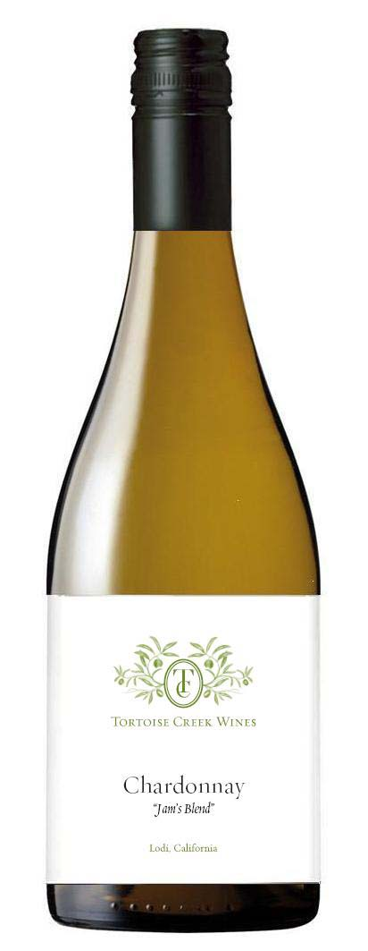 "Tortoise Creek Wines Chardonnay ""Jam's Blend"""