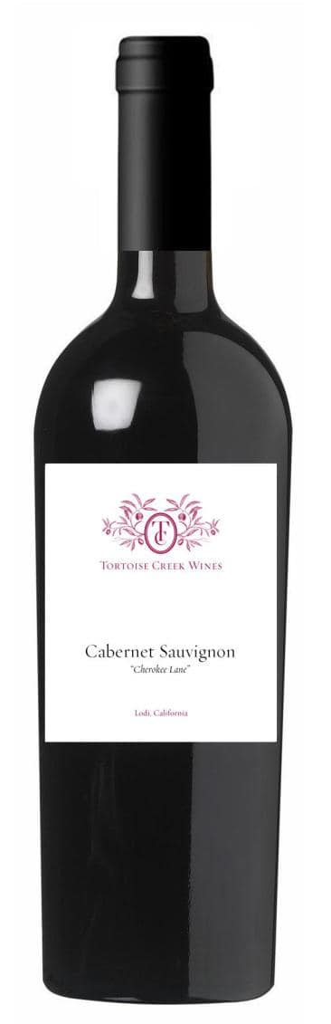 "Tortoise Creek Wines Cabernet Sauvignon ""Cherokee Lane"""
