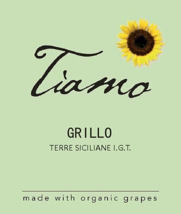 Tiamo Wines Organic Grillo