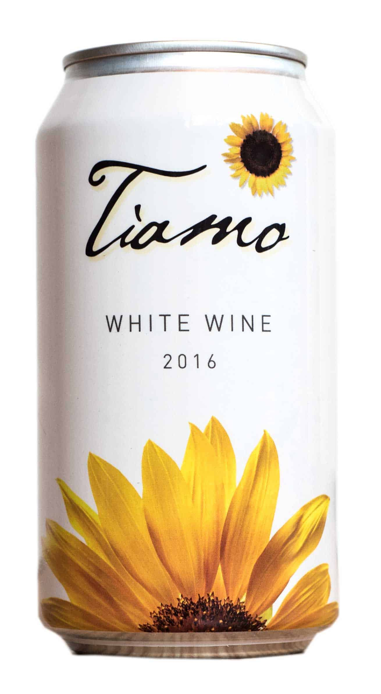 Tiamo Organic White Cans