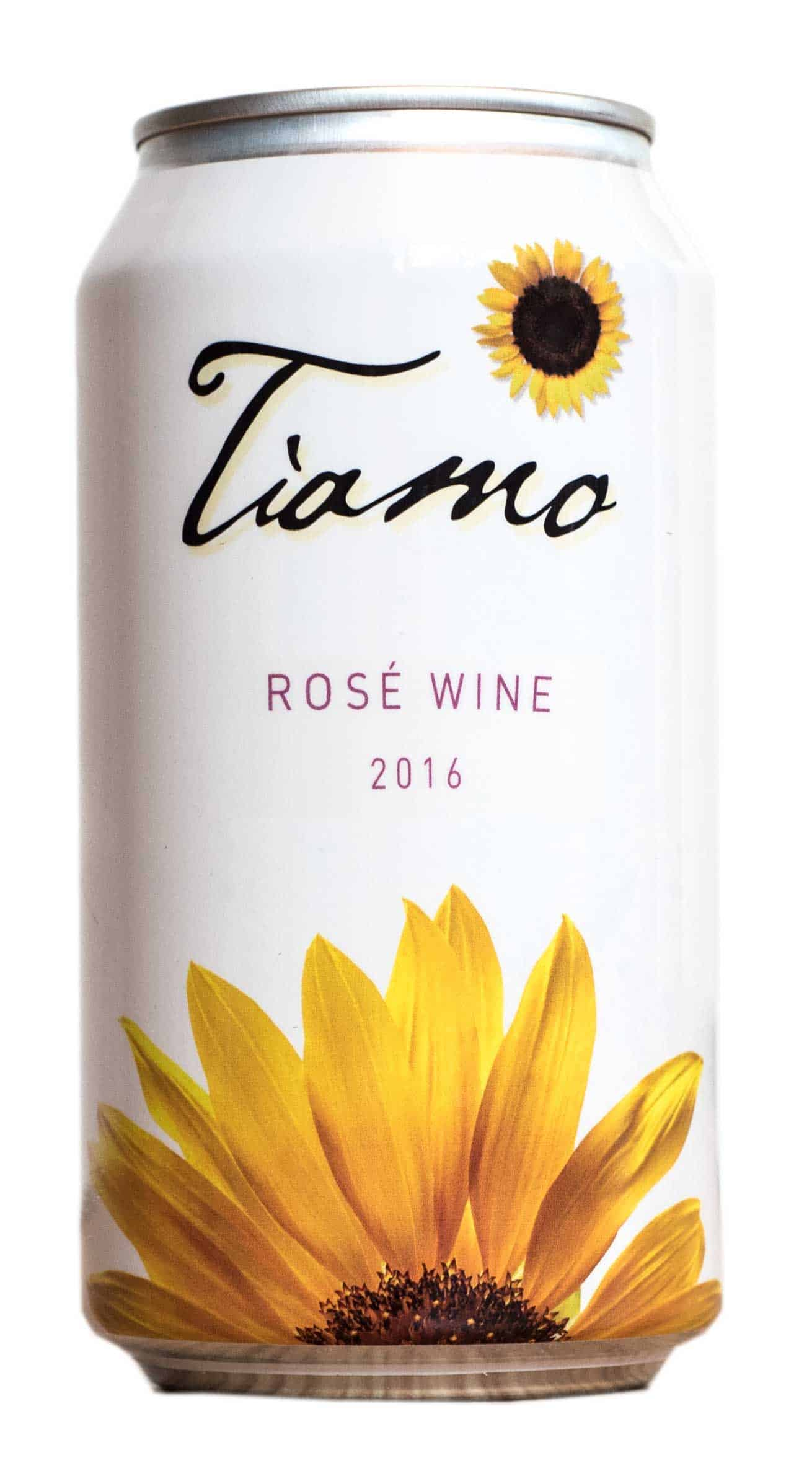 Tiamo Organic Rose Cans