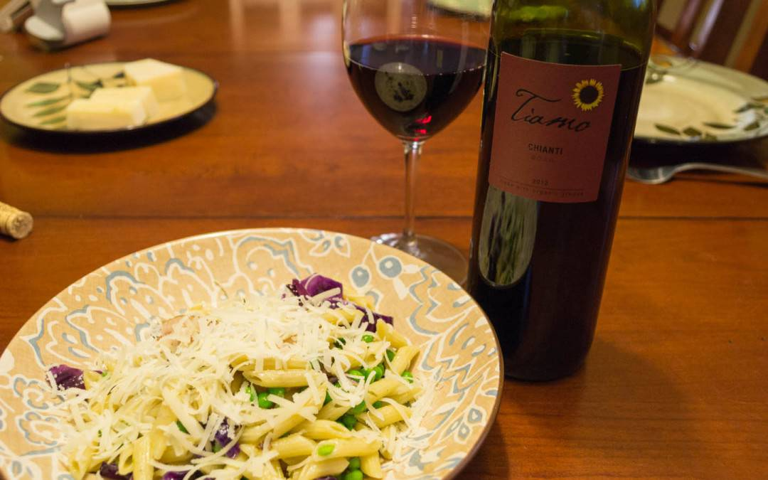 Amateur Adventures In Culinary Creations – Round Two, Chianti and Pasta