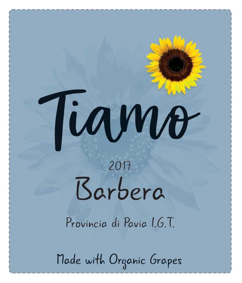 Tiamo Wines Organic Barbera