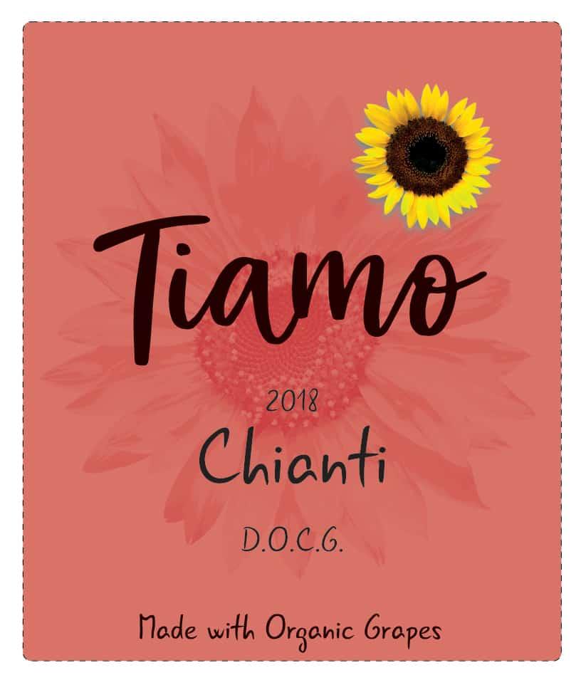 Tiamo Wines Organic Chianti