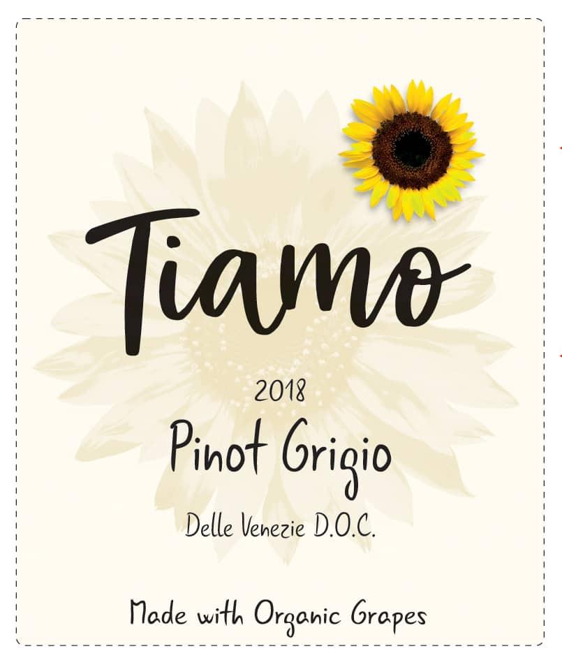 Tiamo Wines Organic Pinot Grigio