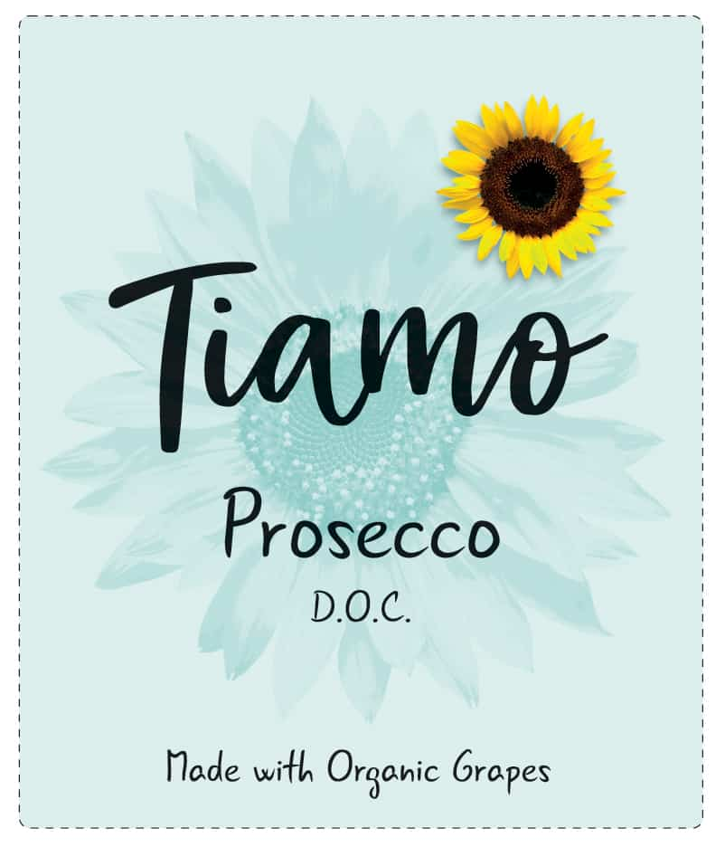 Tiamo Wines Organic Prosecco DOC