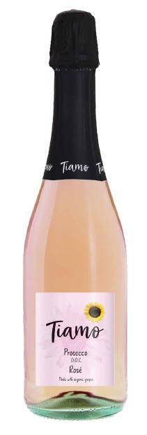 Tiamo Prosecco Rose Bottle
