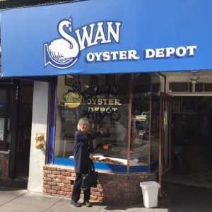 Janie at Swans