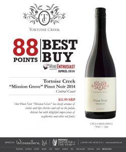 Tortoise Creek Pinot Noir